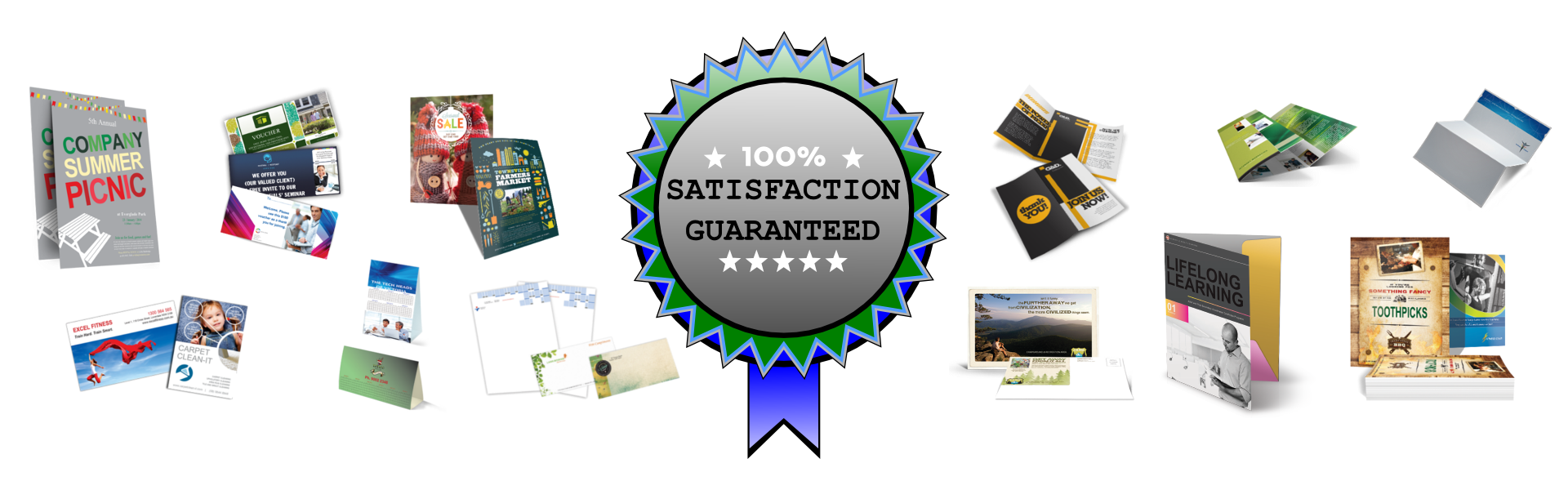 Online Printing Portal Products - 100% satisfaction guarantee